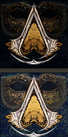 Ac masquerade logo var 2 and 3 by Kudrik