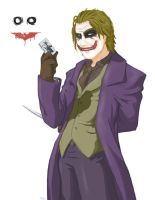 The Joker - Dark Knight by Alexander463