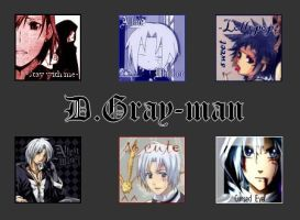 D.Gray-man Avatars by Saria-Alkiniria