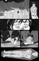 Frankenstein Comic Page by Rhainster