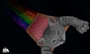 Nyan Nyan Nyan.... by Aphelps