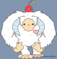 Funfeti Yeti by pronouncedyou
