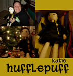 HP: Katie's Hufflepuff Rag Doll by OneWingedMuse