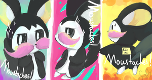 Moustaches! by FireflyThe5th