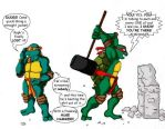 Raphael VS the 4th Wall by fading-star