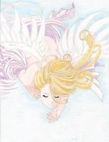 Belldandy's Angel in Color by amber-greggy