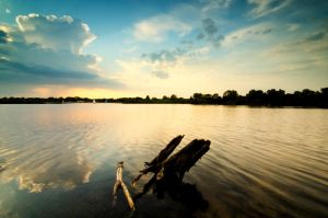 .: Lakeside Evening :. by DavidCraigEllis