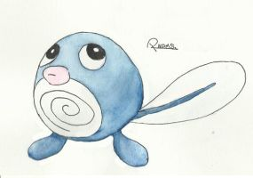 Kanto no. 060 Poliwag by Randomous