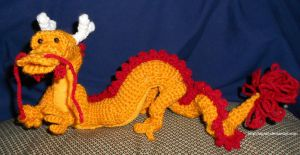 Japanese Dragon by CraftyTibbles