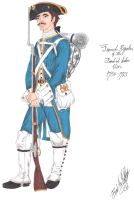 The French Regular - 1763 by CdreJohnPaulJones