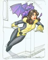 Kitty Pryde in Color by aaronlopresti