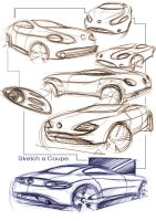 just sketch a coupe by vanszhang