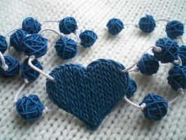 Knitted heart by ProSvet