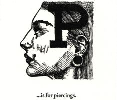 P is for Piercings... by scheherazade