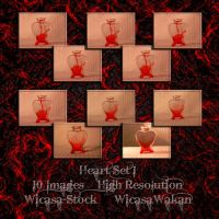 Heart set1 wicasa-stock by Wicasa-stock