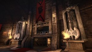 Secret Quarters, Chivalry : Medieval warfare map by Zenutron