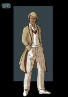 5th doctor by nightwing1975