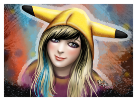 Pikachu Hayley by xnicoley