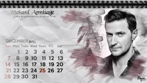 Richard Armitage December 2014 by Nhyms