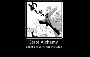 FMA- Ed can do ballet by Tyranecia