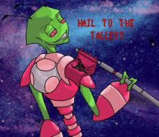 Hail to Zim by bleedingstargoddess