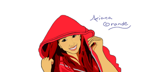 Ariana Grande (Base colours) TUTORIAL/UNFINISHED by ScarlettShadow257