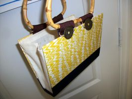 Chinese themed book purse by RaheHeul