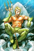 Aquaman by Cinar