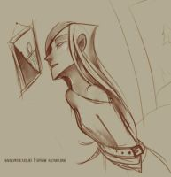 Sketch - And then, there was Nothing by MarionetteDolly