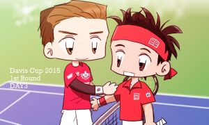 Tennis: Davis Cup 2015 1st Round DAY3 by 32929wt