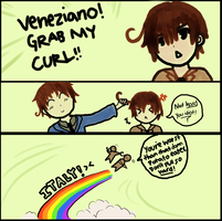 Veneziano, Grab my Curl APH Meme by 19pockyBOXES