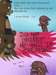 Fnaf silly comic - Foxys Pride part 8 by Maria-Ben