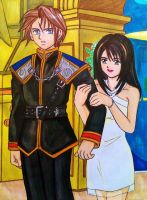 Squall x Rinoa: I can't dance by dagga19 by dagga19