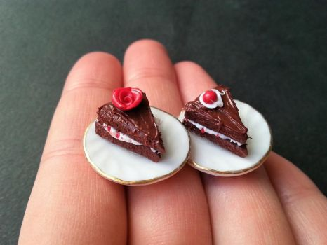 chocolate cake rings by SprinklesGirl