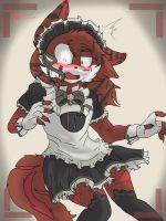 Razor! WEAR A MAIDS OUTFIT!!! by TailsicaTFox