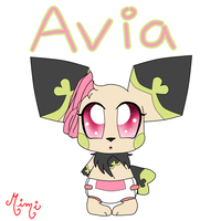 Avia the Seedling NEW by MimiTheFox