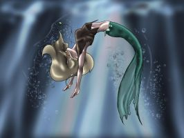 mermaid concept by Rhosgobel-Rabbit