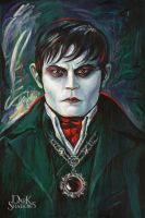 Depp as Barnabas by 2B-inspired