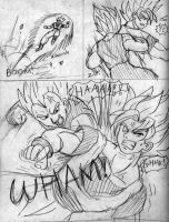 Goku vs. Vegeta Page2 by ViperXtreme