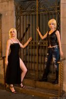 Aya and Aya - Parasite Eve by FireLilyCosplay