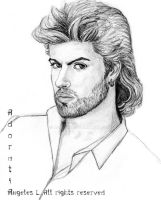 George Michael in the eighties by Adoratia