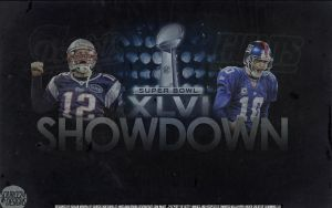 Patriots vs Giants Superbowl XLVI Wallpaper by Angelmaker666