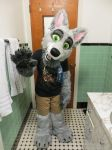 Found Clothes to Wear with Partial Suit! by SolitaryGrayWolf