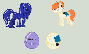 HATCHED ADOPTS -  Putty Pony and Doll Pony by Tranco-Adopts