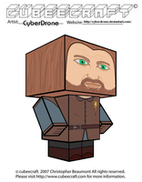 Cubeecraft - Ned Stark by CyberDrone