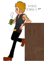 Happy 40 Mike Dirnt!! by runner-painter