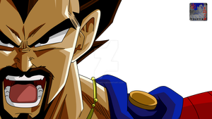King Vegeta .:Lineart27:.Color by PrinzVegeta