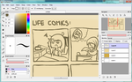 work in progress Life Comic by gekkoyuki73