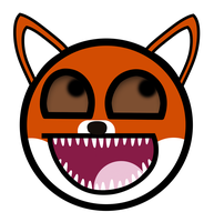 Red Fox Awesome Smiley by E-rap