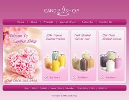 Candle Shop Layout by creativefad